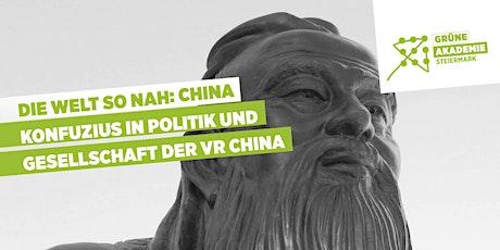 Konfuzius in Politik und Gesellschaft der VR China tickets