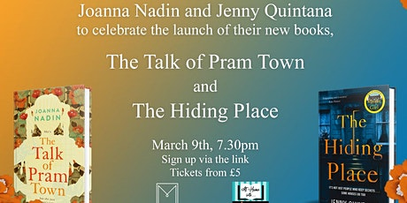 Joanna Nadin and Jenny Quintana in conversation tickets