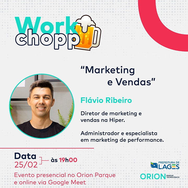 Imagem do evento Workchopp - Marketing e vendas