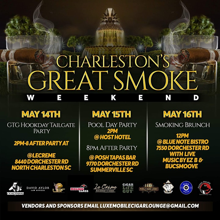 Charleston's Great Smoke Weekend image