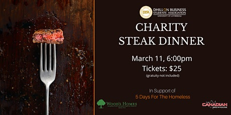 Charity Steak Dinner @ The Canadian Brewhouse tickets