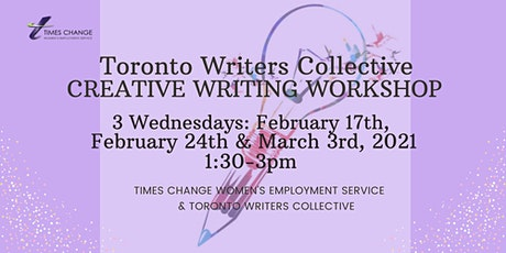 Creative Writing Workshops with Toronto Writers Collective tickets
