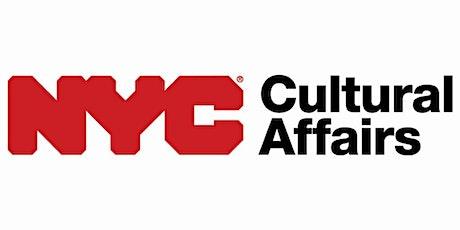 Webinar - FY22 DCLA Cultural Development Fund (CDF) Application tickets