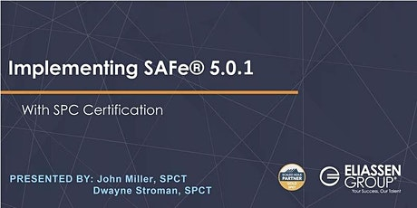 Implementing SAFe 5.0.1 Remote Course tickets