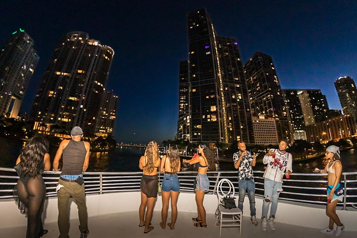 NIGHT BOAT CRUISE PARTY IN MIAMI image
