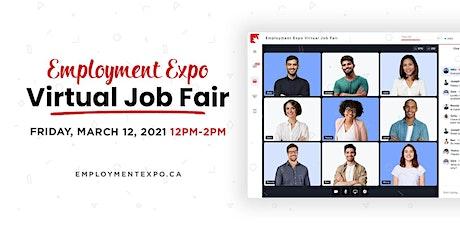 Employment Expo Virtual Job Fair tickets