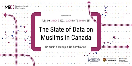 Muslims in Canada Data Initiative: The State of Data on Muslims in Canada tickets