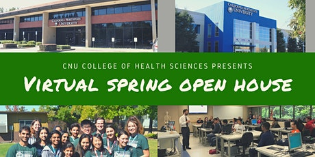 CNU College of Health Sciences Virtual Spring Open House tickets