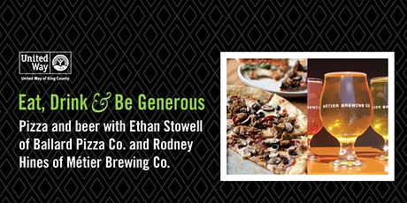Pizza & Beer with Ballard Pizza Co. & Métier Brewing Co. tickets