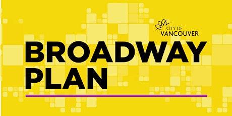 Broadway Plan Emerging Directions Workshop - Kitsilano tickets