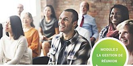 Les outils essentiels du parent bénévole - Module 3 - La gestion de réunion billets
