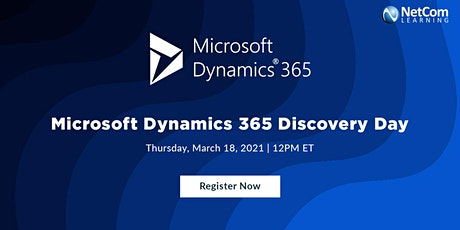 Live Event - Microsoft Dynamics 365 Discovery Day tickets