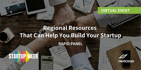 Regional Resources That Can Help You Build Your Startup tickets