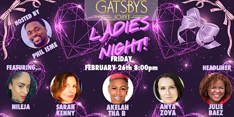 COMEDY LADIES NIGHT! All Female Revue at Gatsby's Joint tickets