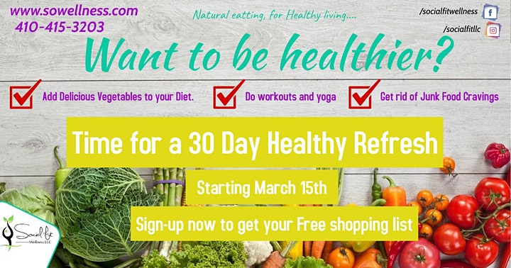 30 Day Healthy Refresh image