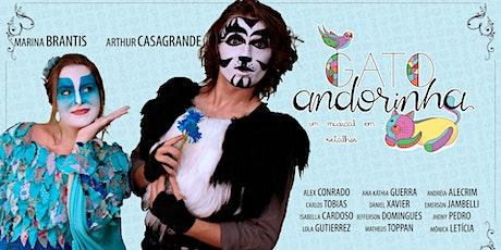 DESCONTO! Gato Andorinha - Um Musical em Retalhos no Teatro West Plaza ingressos