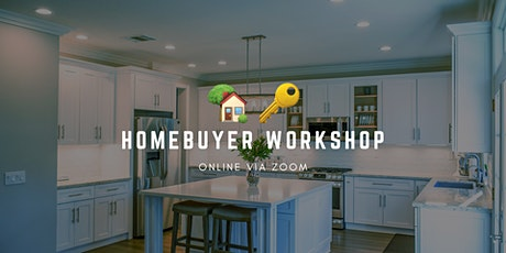 New Homebuyer Workshop Zoom tickets