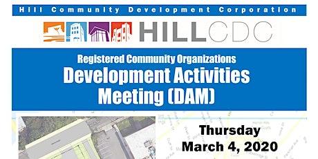 Development Activities Meeting: Grayson Center Parking Lot Expansion tickets