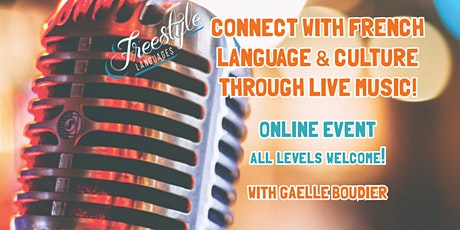 Connect with French Language & Culture Through Live Music! tickets