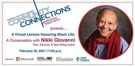 ECSU Community Connections Presents: Nikki Giovanni tickets