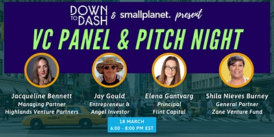 Virtual Venture Capital Panel and Pitch Night