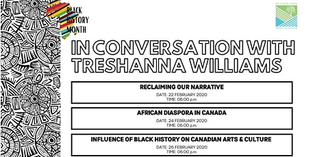 Black History Month - In Conversation with Treshanna Williams tickets