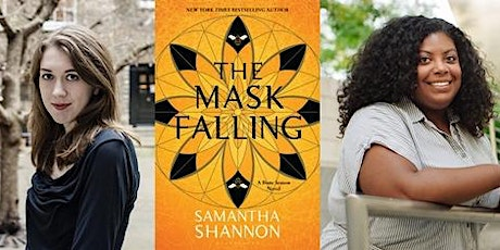 Samantha Shannon in conversation with Amanda Joy, Mask Falling tickets