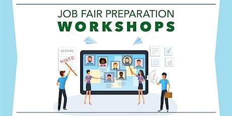 Job Fair Preparation Workshop tickets