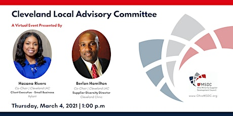 Cleveland Local Advisory Committee March 2021 Virtual Meeting tickets