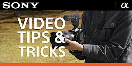 Sony Video Tips & Tricks tickets