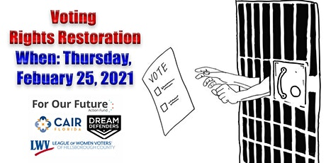 Voting Rights Restoration: Where Are We Now? tickets