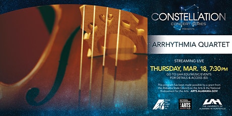 Constellation Series presents Arrhythmia Quartet (online event) tickets