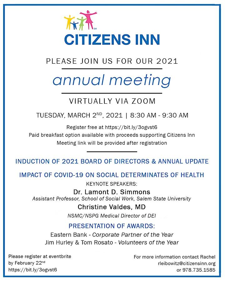 Citizens Inn Annual Meeting image