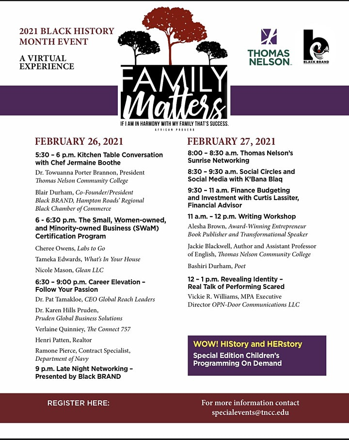 Family Matters: A Two-Day Power Event to Inform and Inspire! image