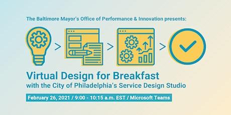 Design for Breakfast with the City of Philadelphia's Service Design Studio tickets