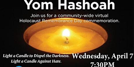 Community Yom Hashoah Service tickets