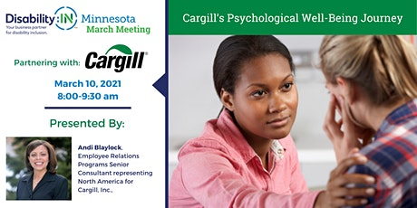 Cargill's Psychological Well-Being Journey tickets