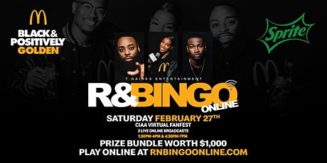 CIAA FanFest & McDonald's Presents R&Bingo Online (DAYTIME EVENT) tickets