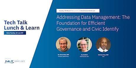 Addressing Data Mngmt: The Foundation for Efficient Governance & Civic Eng. tickets