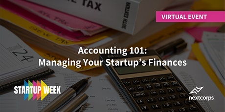 Accounting 101: Managing Your Startup's Finances tickets
