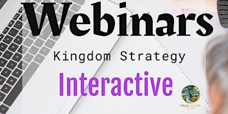 Kingdom Strategies Webinar tickets
