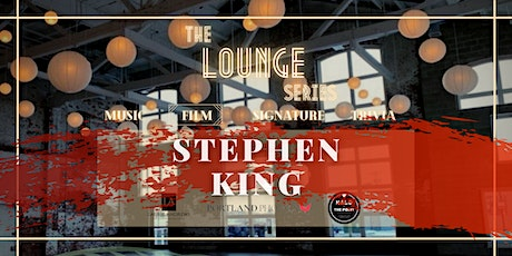 The Lounge at Halo: Movie Night ft. Stephen King tickets