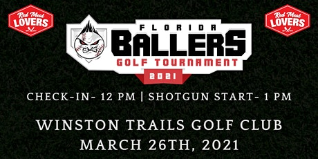 Red Meat Lover's Club and Florida Ballers (501c3) Present a Day of Golf tickets