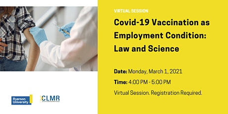 Covid-19 Vaccination as Employment Condition: Law and Science tickets