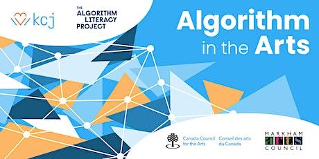Create digital art using algorithms - live workshop for teens tickets
