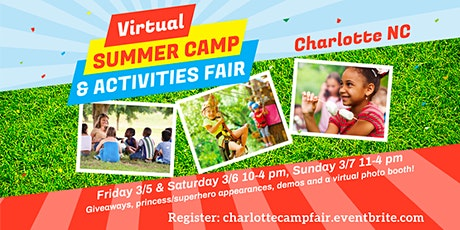 Charlotte Camp & Activities Fair (Virtual) tickets