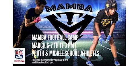 Mamba Football Camp tickets