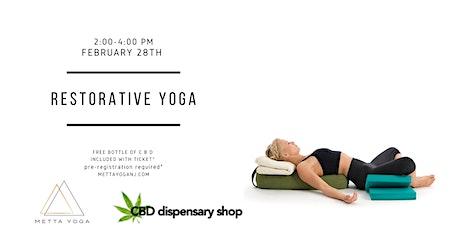 Self-Care Sunday Restorative Yoga Workshop tickets