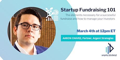 Startup Fundraising 101 tickets
