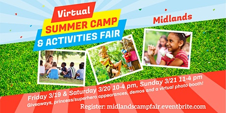 Midlands Camp & Activities Fair (Virtual) tickets